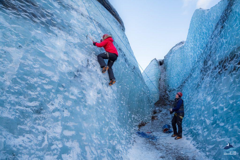 Ice Climbing Tour Iceland