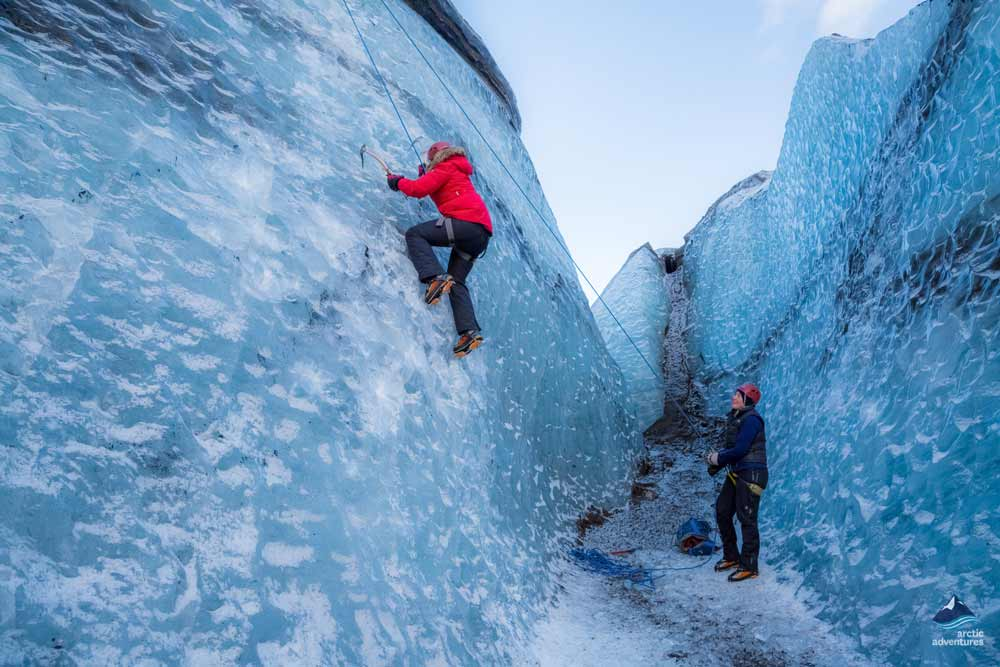 As I Walked Onto Ice I Kept In Mind >> Glacier Hike Ice Climbing Day Tour Arctic Adventures