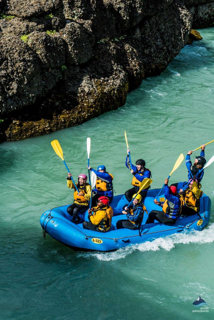 White River Rafting in Iceland