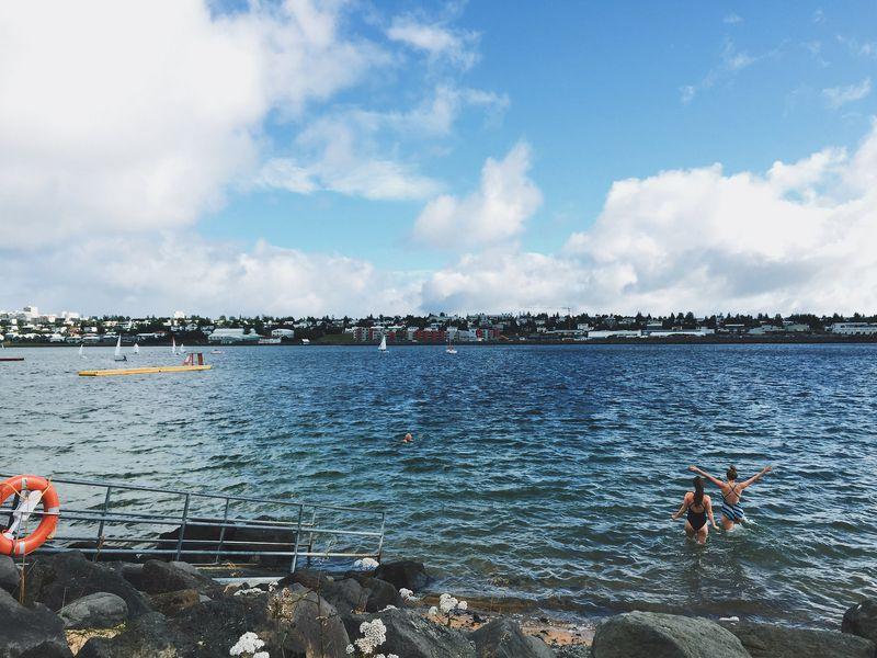 Sea Swimming Iceland