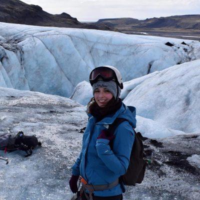 Melissa Intern at Arctic Adventures