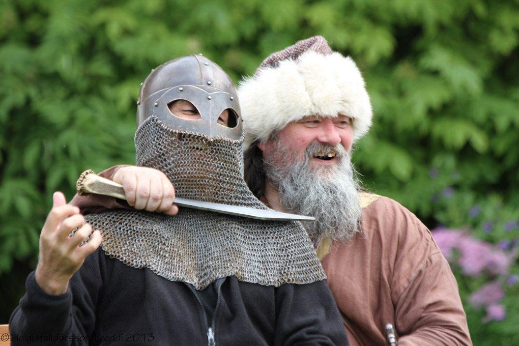 Viking Festival Hafnarfjordur Iceland