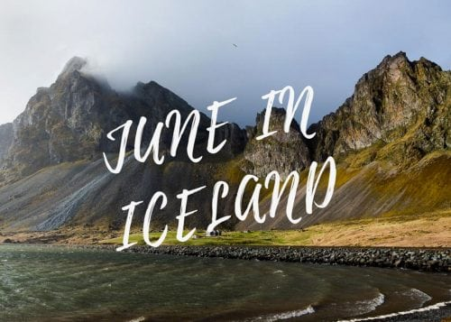 June in Iceland