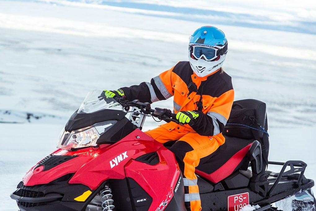 Glacier Snowmobiling Tours