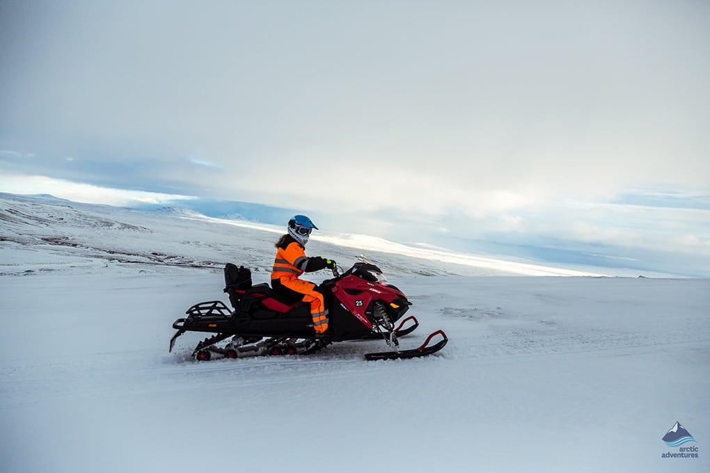 Glacier Snowmobiling Tour from Reykjavík