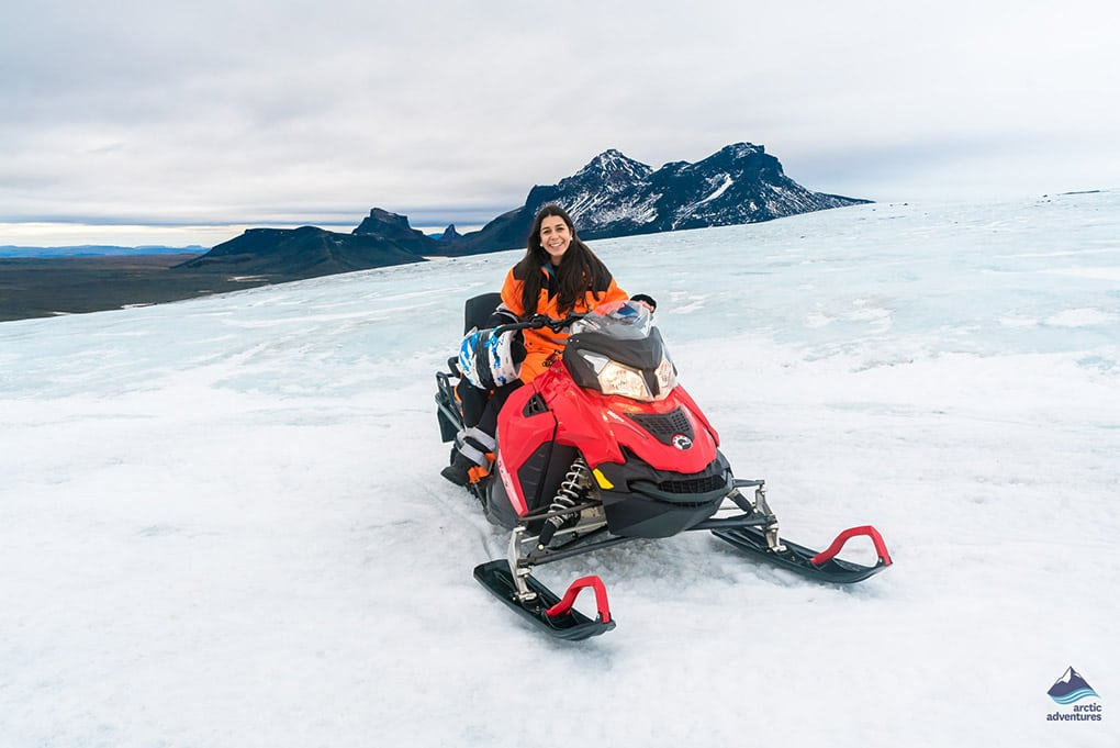 Snowmobiling Tour in Iceland