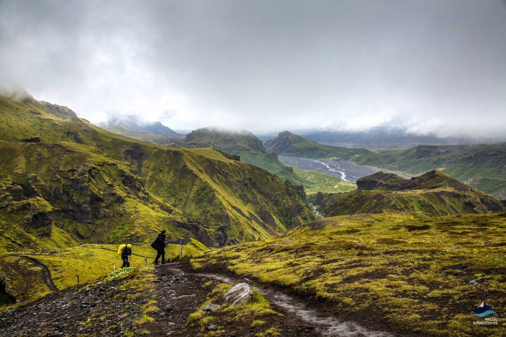 Thorsmork Hiking tour, Iceland