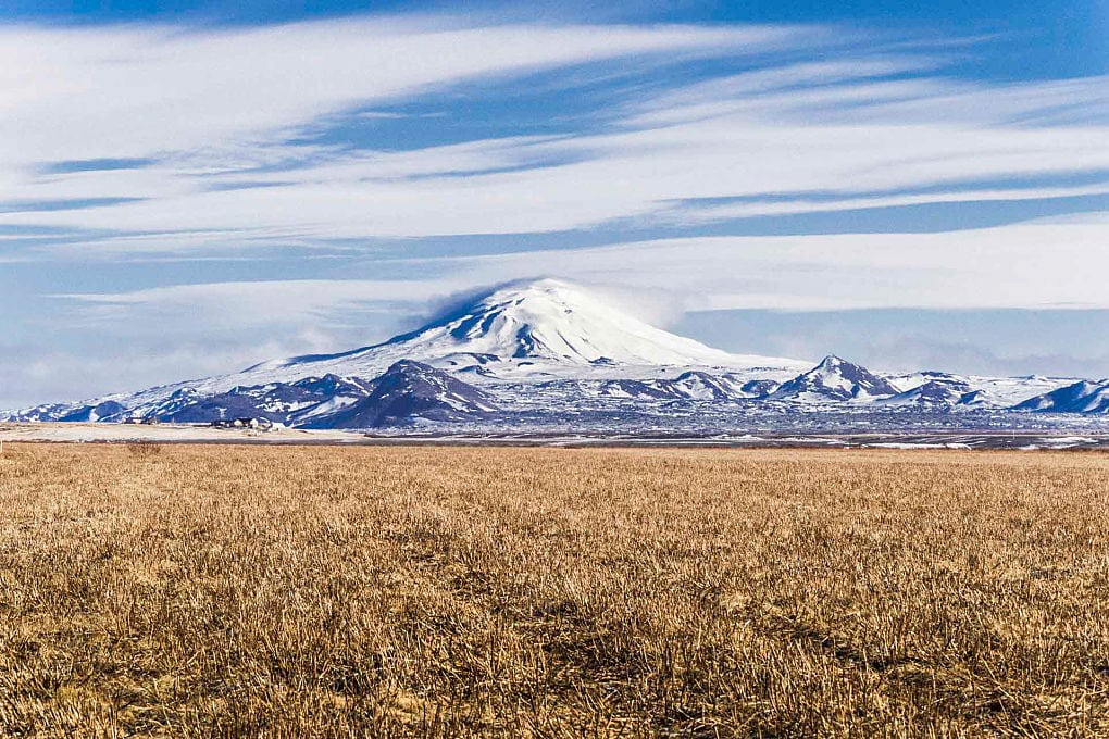 Mount Hekla Iceland Volcano