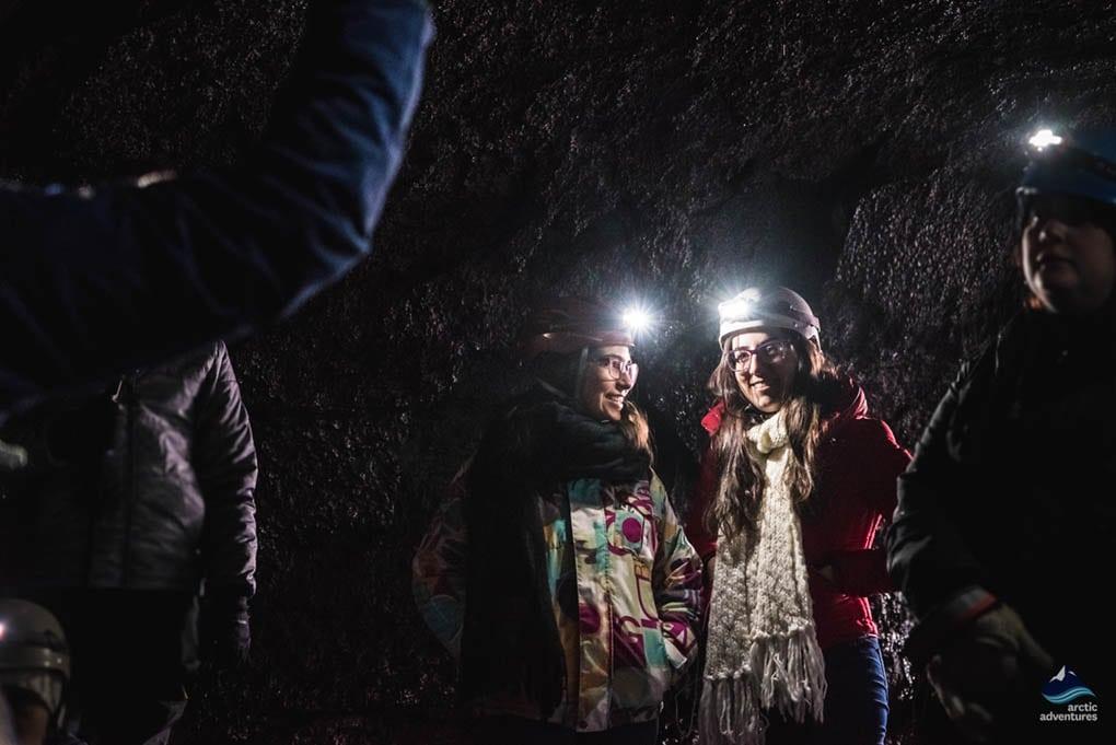 Iceland Underground Lava Caving Tour