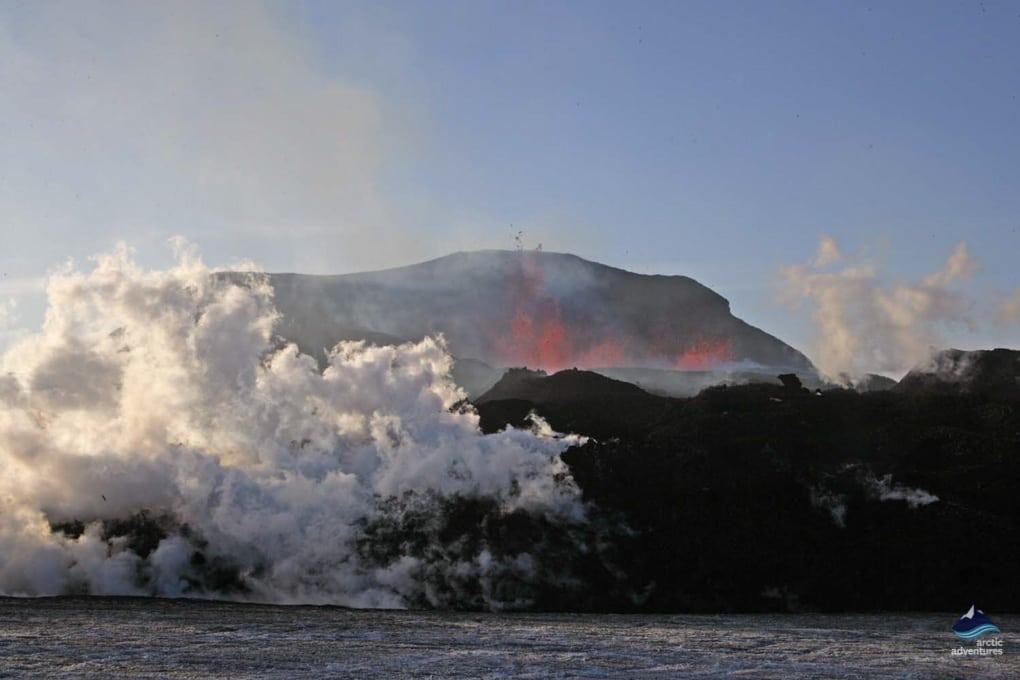 Mount Eyjafjallajökull Glacier Volcano Eruption