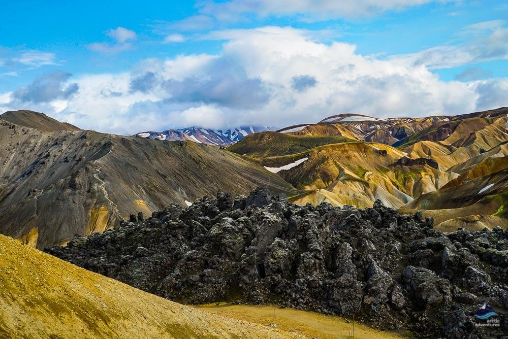 Landmannalaugar Geothermal Area Landscape