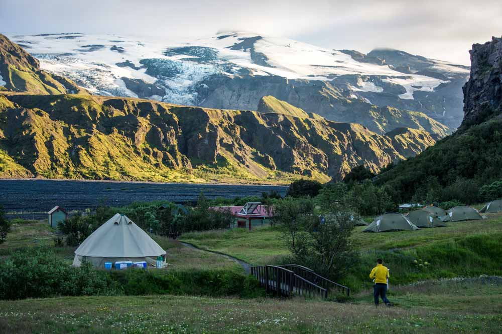 Camping at Thorsmork