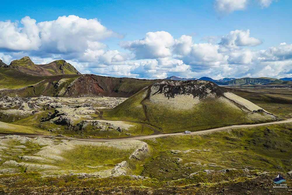 Landmannalaugar in July