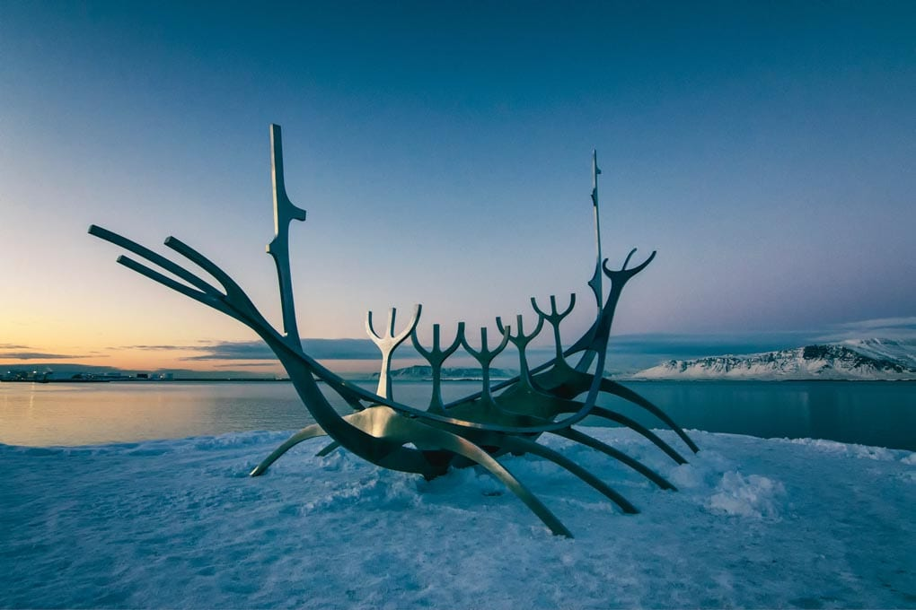 Sun Voyager in winter