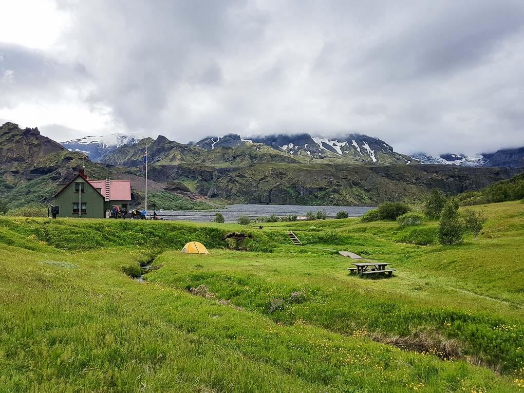 campsite in Thorsmork