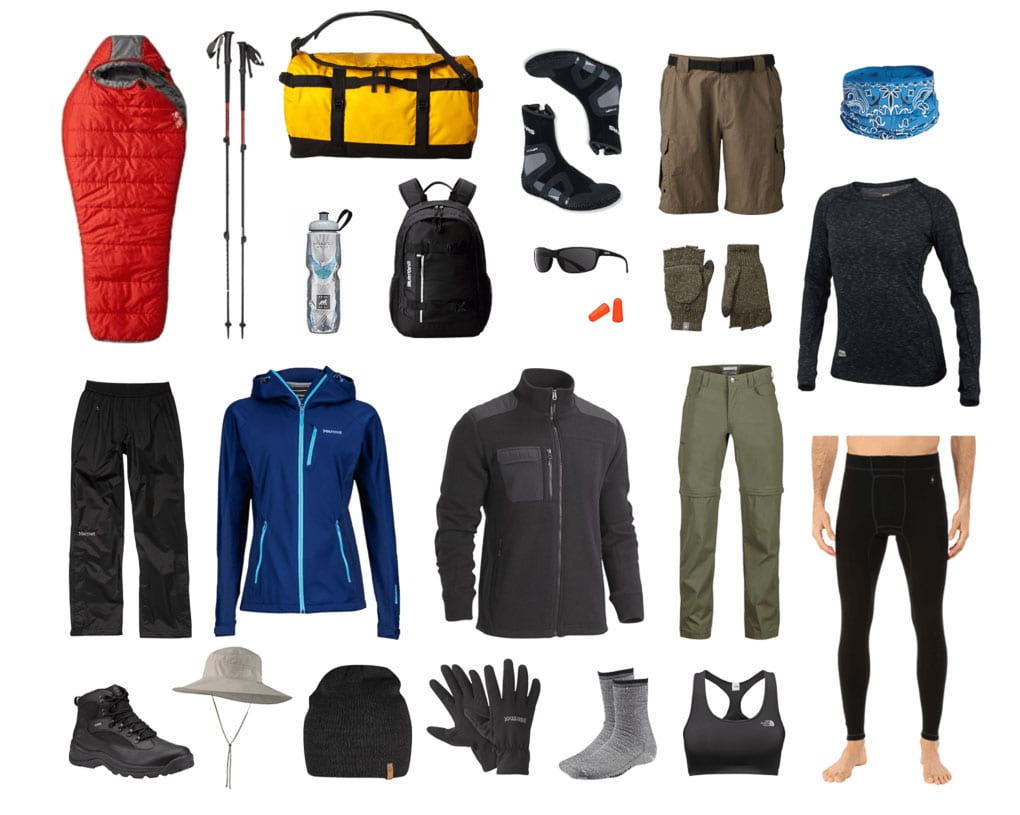 camping gear recommendation Iceland