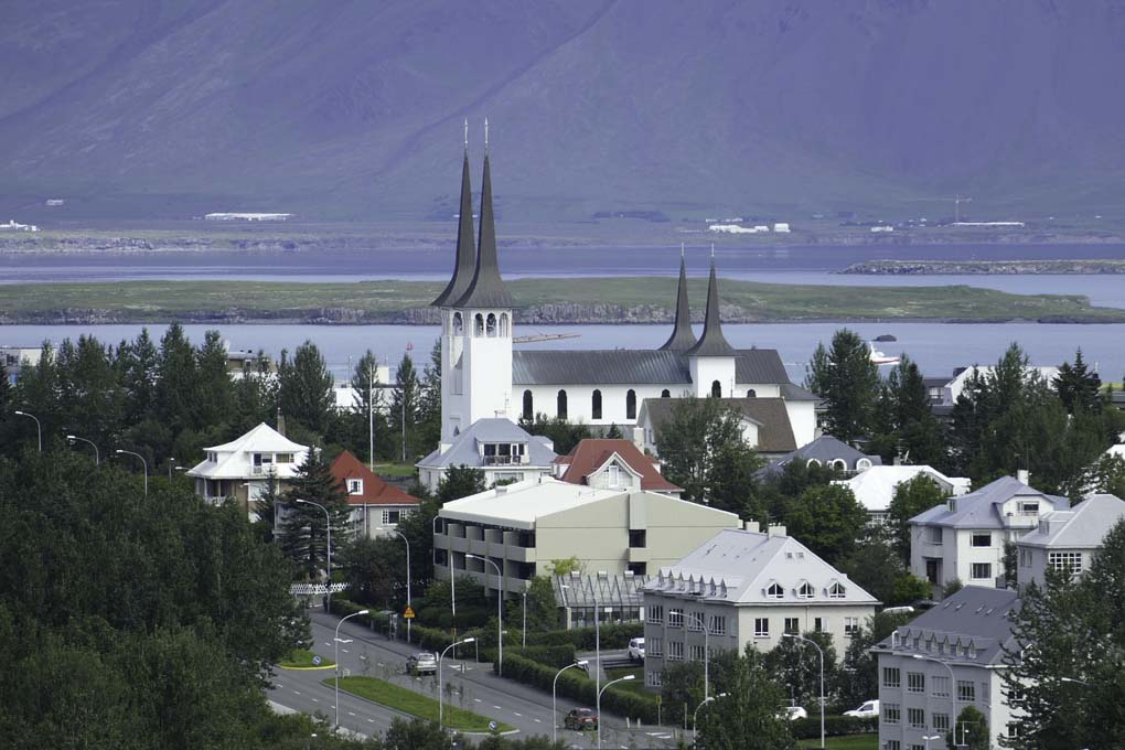 Háteigskirkja Church in Reykjavik