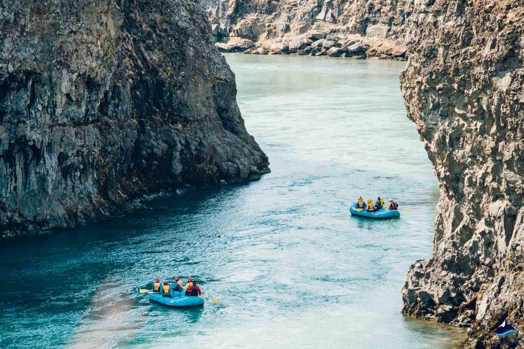 Gullfoss Canyon rafting on Golden Circle