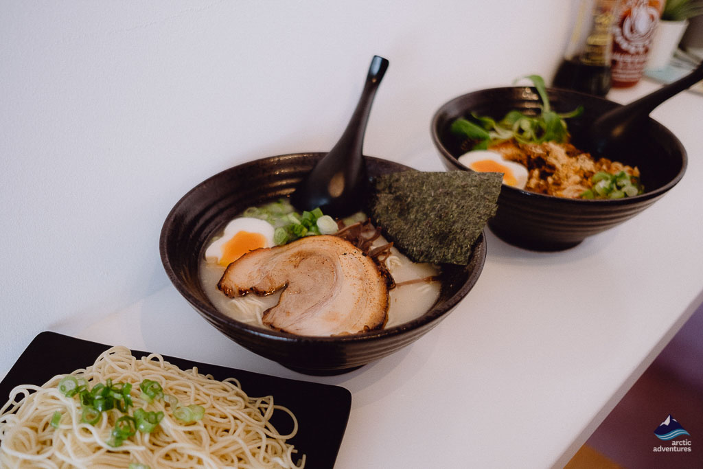 Hi noodle is the new ramen place in town of Iceland's capital