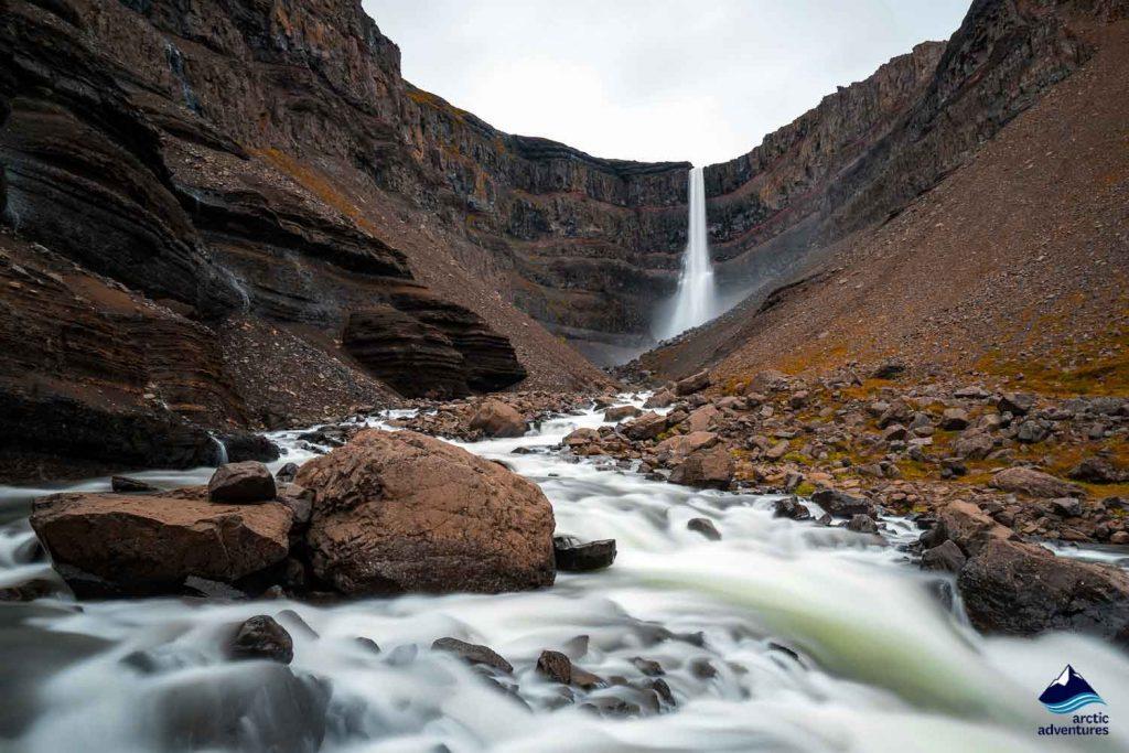 Waterfalls Eastfjords Iceland