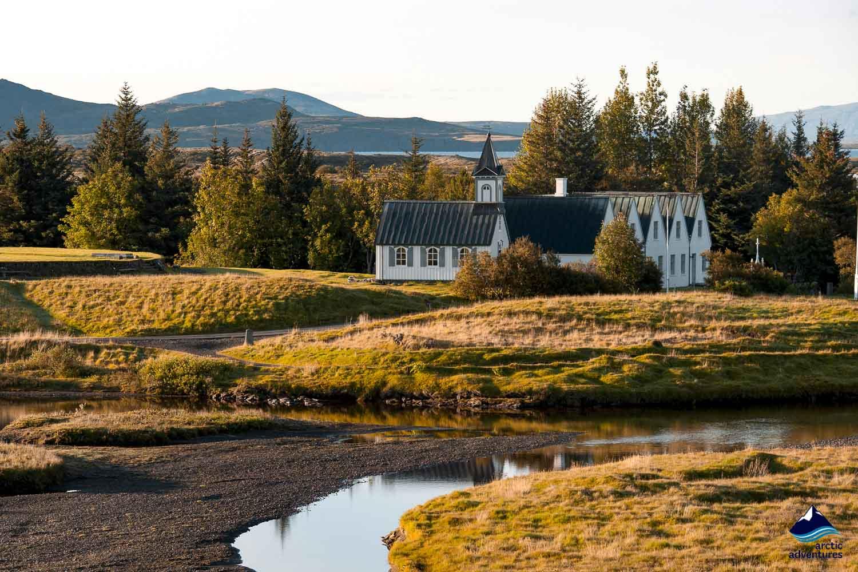 Church Thingvellir National Park
