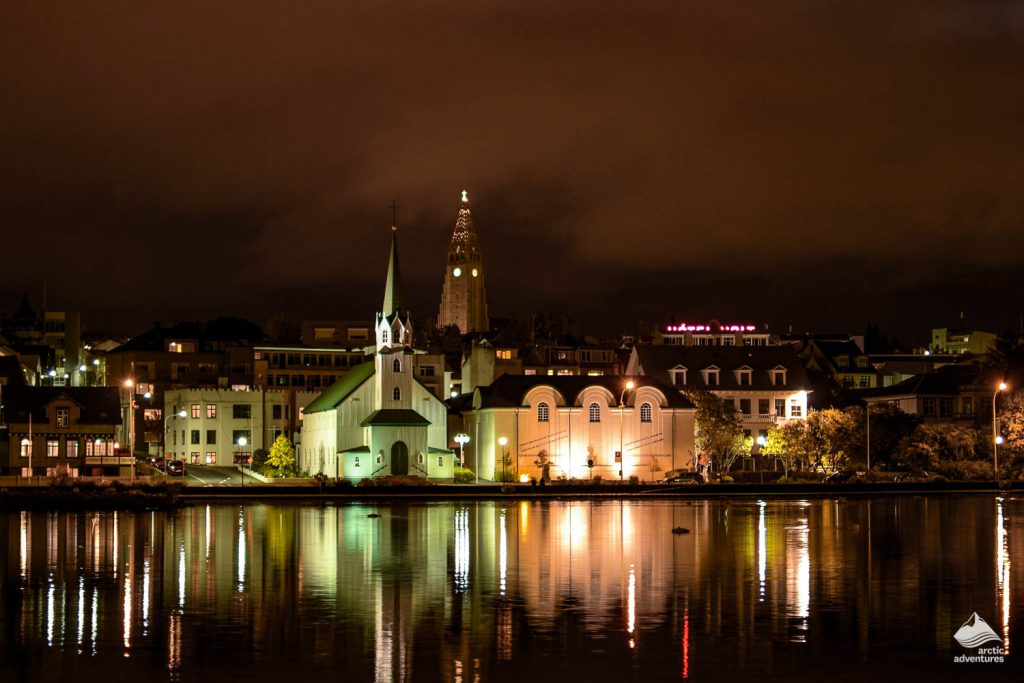 The peaceful Reykjavik streets before the bustling nightlife begins