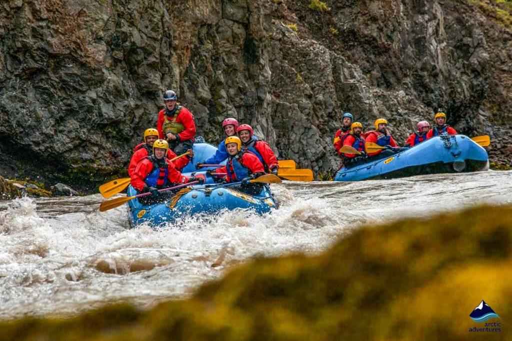 Gullfoss Canyon rafting tour