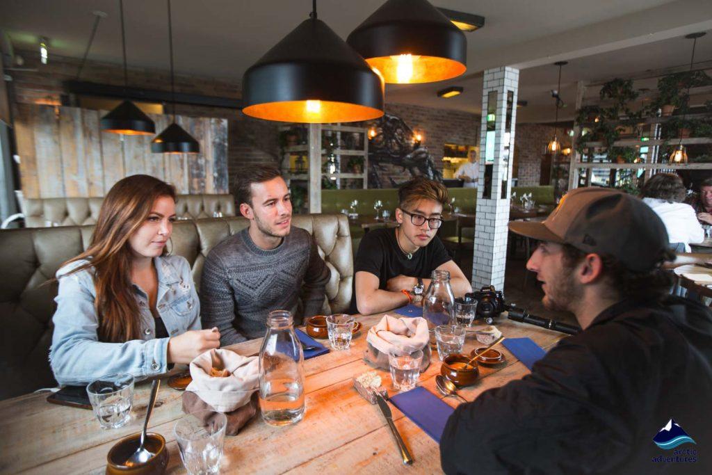 Food tour tasting in Reykjavik