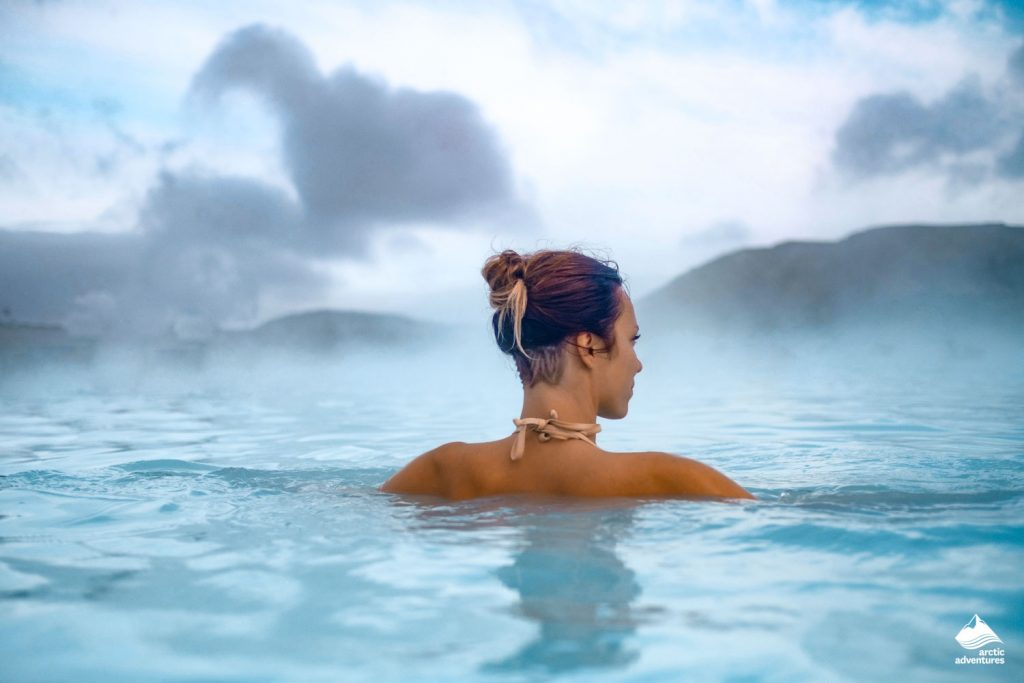 Spa in geothermal hot spring