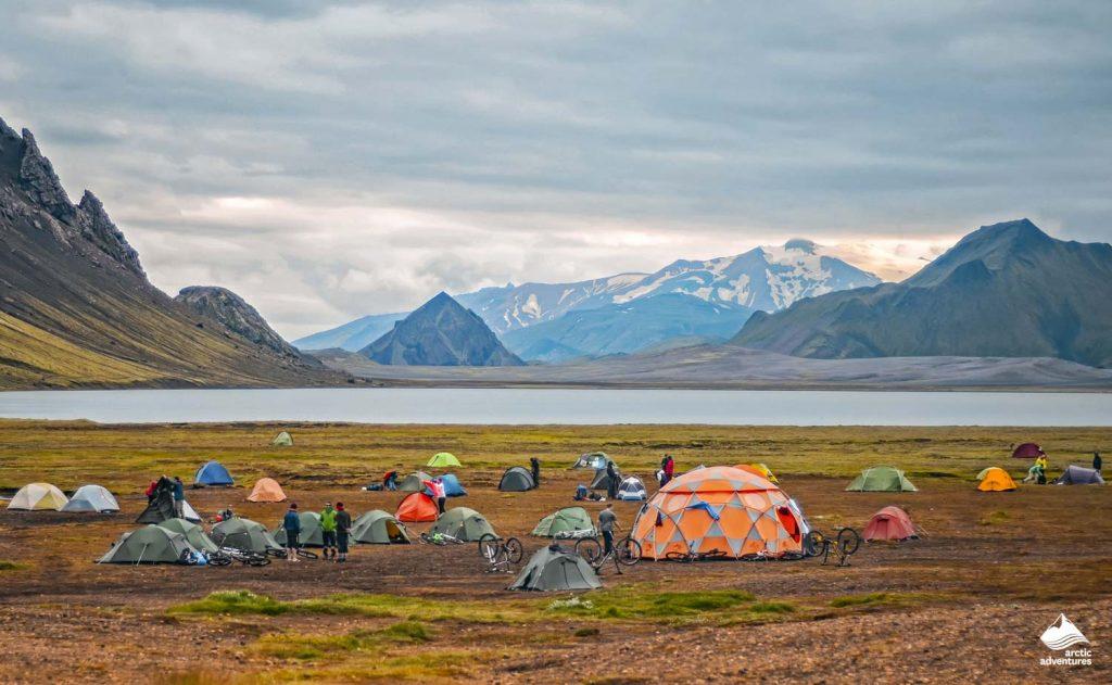 Big tourist camp