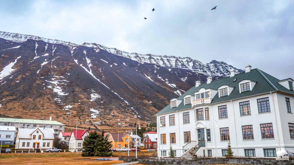 Isafjordur in Iceland