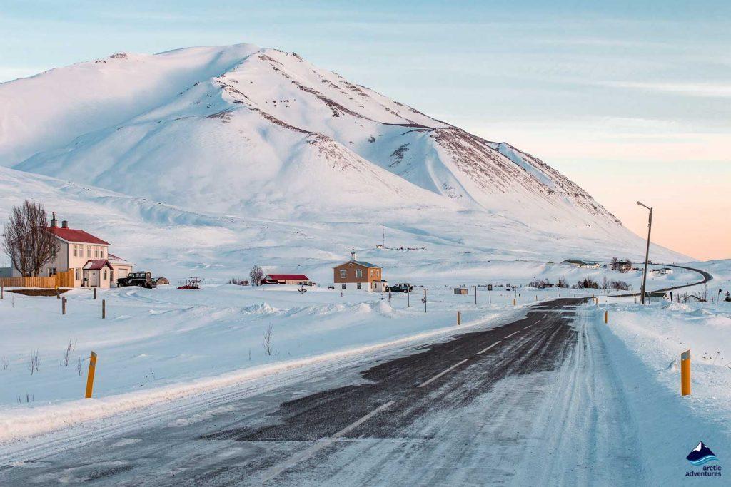 Dalvik winter road