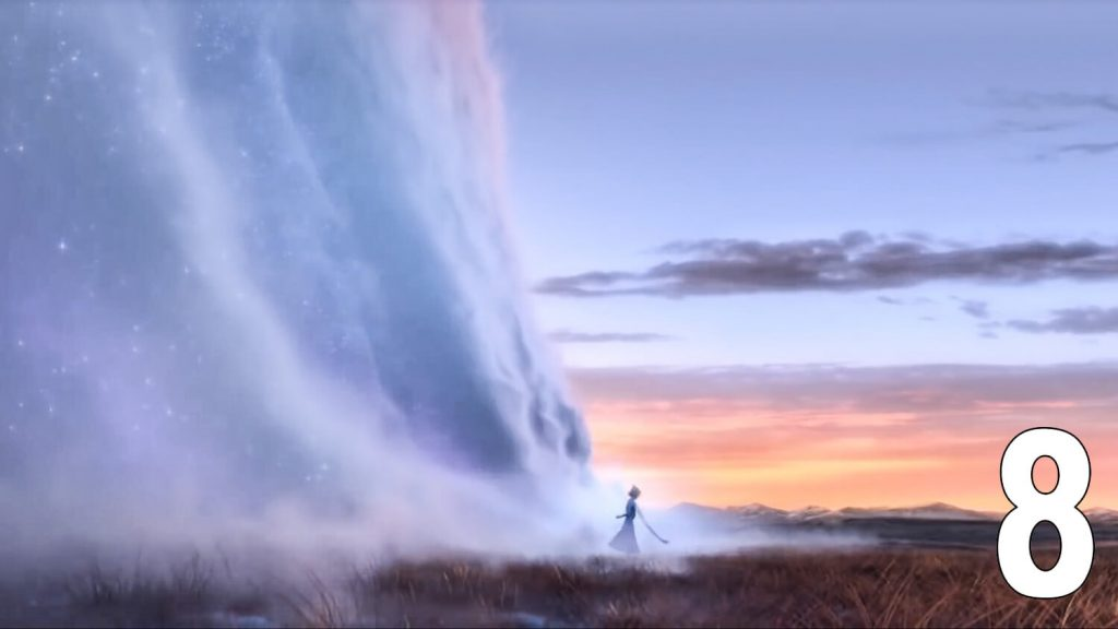 Waterfall animated movie frozen 2 trailer