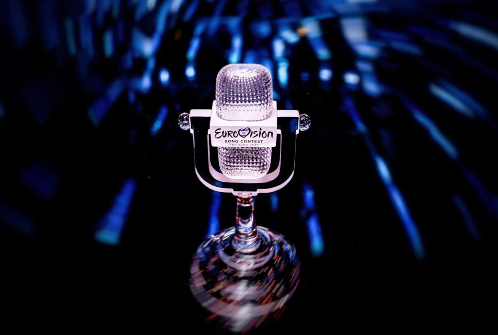 The Eurovision Song Contest microphone