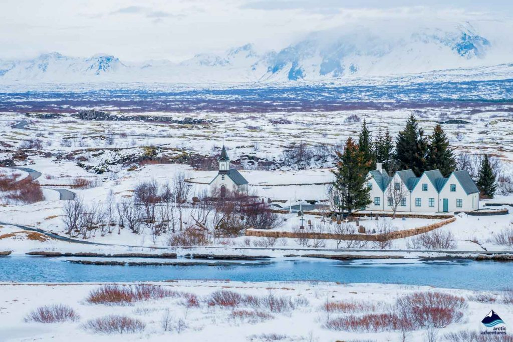 Houses in Thingvellir National Park