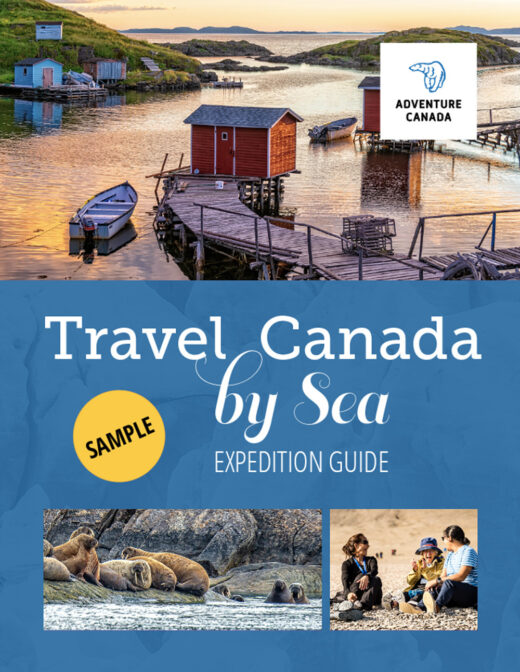 Travel canada by sea sample cover