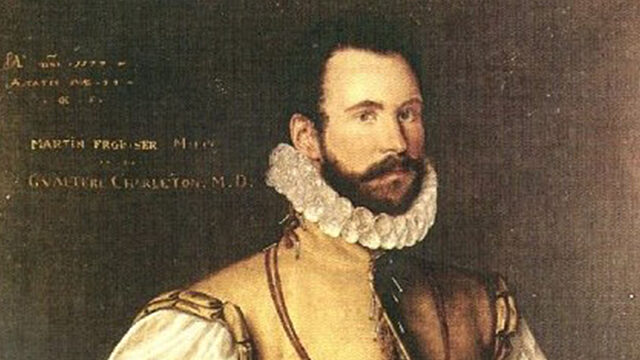 Martin Frobisher circa 1577 painting by Cornelis Ketel Bodleian Library