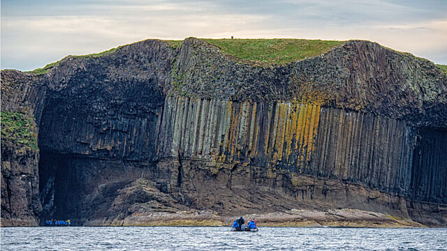 Staffa Fingals Cave Scotland