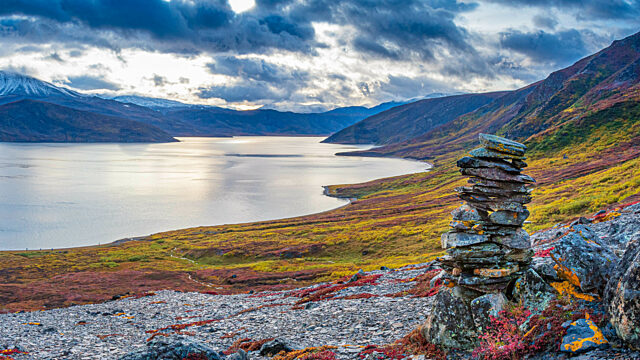Inukshuk Torngat Mountains National Park
