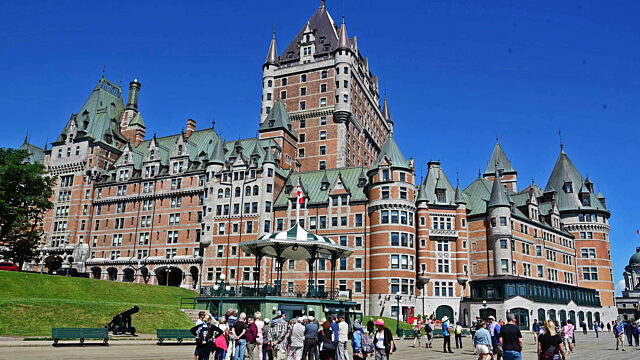 Day 1 hotel chateau frontenac