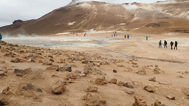 Iceland geothermal fields