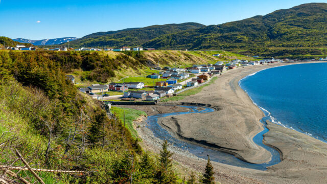 Town of Trout River Newfoundland