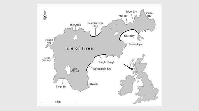 Map of Tiree
