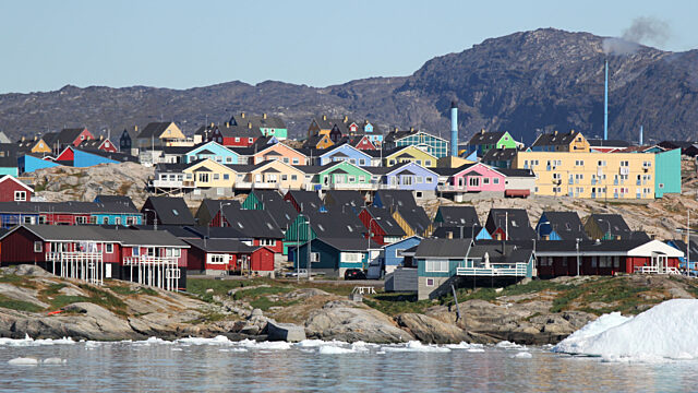 Town of Ilulissat Greenland