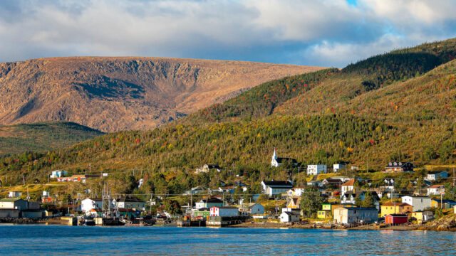 Town of Woody Point and Tablelands Gros Morne Newfoundland