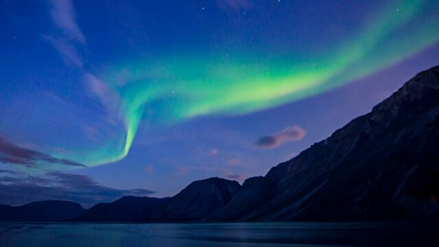 Northern lights Sondre Stromfjord