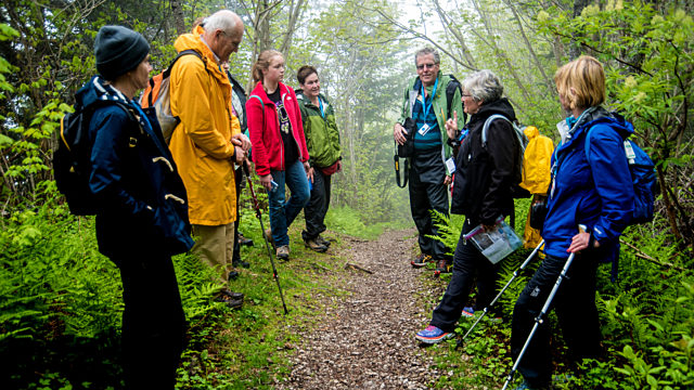 Dawn Bazely Outdoor Lecture Forillon National Park