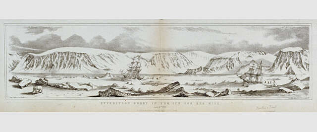 1818 Buchan Expedition beset in Ice