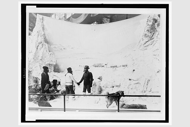 Diaorama of the Greely Expedition at the 1893 Chicago Worlds Columbian Exposition