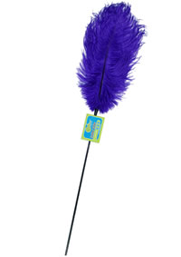Feather Tickler Passion Blue